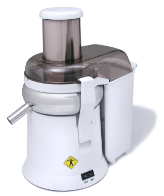 L'EQUIP XL Pulp Ejector Juicer, White Model #215