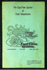 Equi-Flow System of Food Dehydration