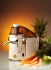 L'Equip Mini Pulp Ejector Juicer, White Model #110.5