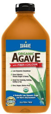 Xagave - Agave Nectar - 11.75 oz., 23.5 oz. and 5 lb Plastic Bottles (sold by the case)