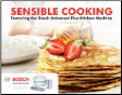 "Bosch Cookbook- ""Sensible Cooking"""