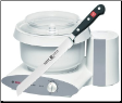 "Bosch Universal Plus Mixer with Wusthoff Classic 8"" Bread Knife"